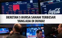Bursa Saham Terbesar