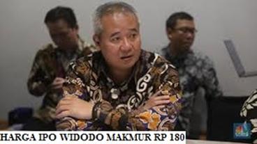 Harga IPO Widodo Makmur Rp 180
